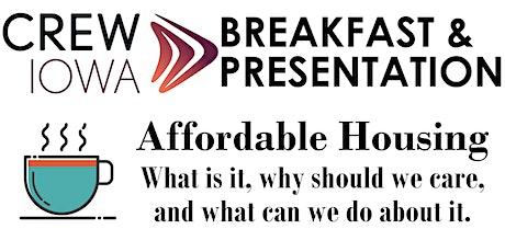 CREW Iowa - Networking Breakfast & Presentation tickets