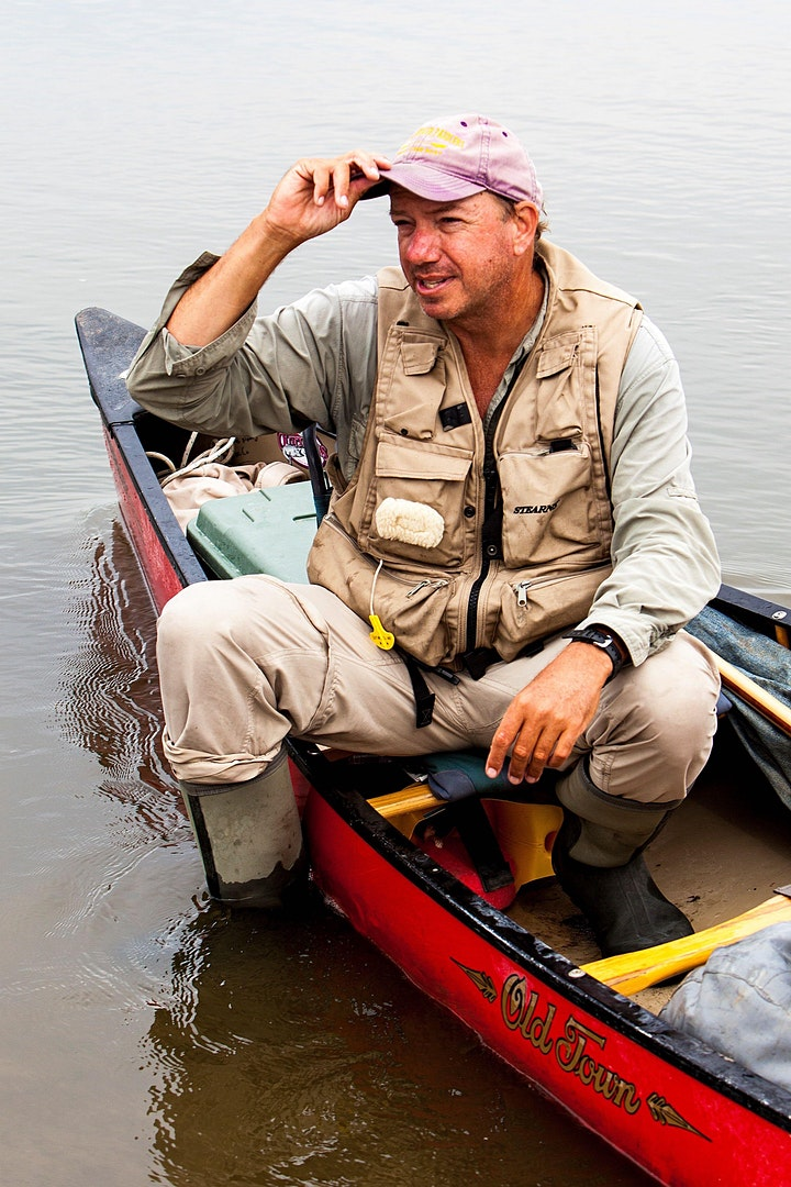 Reception for Cross-Country Canoeist/Adventurer Neal Moore image