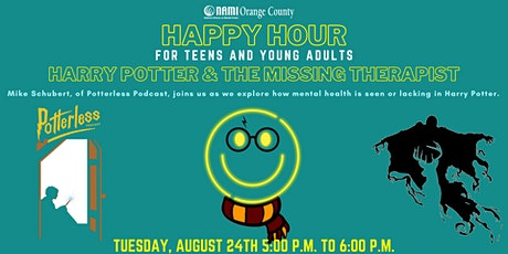NAMI-OC's Happy Hour: Harry Potter and the Missing Therapist tickets
