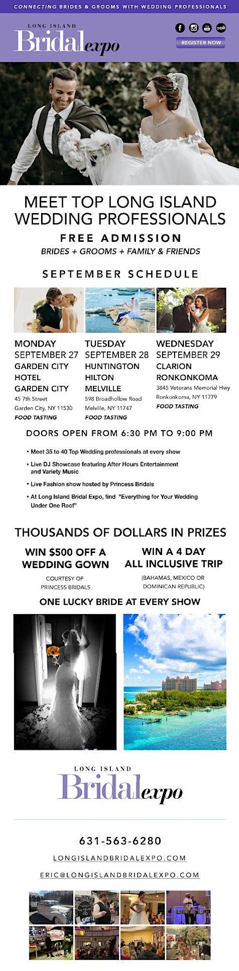 Long Island Bridal Expo-September 2021 image