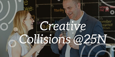 Creative Collisions: Speed Networking @25N Coworking tickets