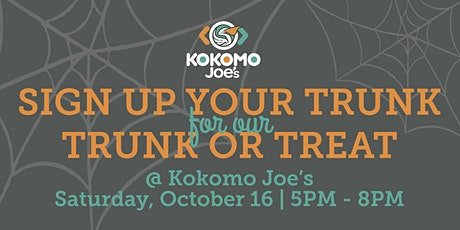2021 Trunk or Treat Trunk Sign Up tickets