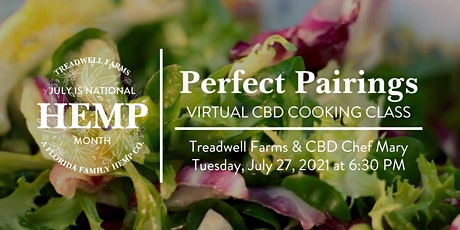 National Hemp Month - Perfect Pairings Summer Recipes tickets