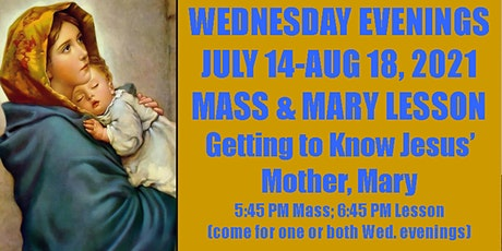 Wednesday Evening Mass and Mary Lesson with Father Thomas Reagan tickets
