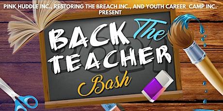 Back the TEACHER Bash tickets