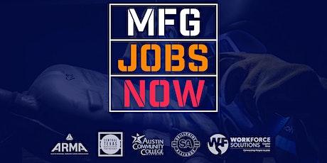 MFG Jobs Now tickets