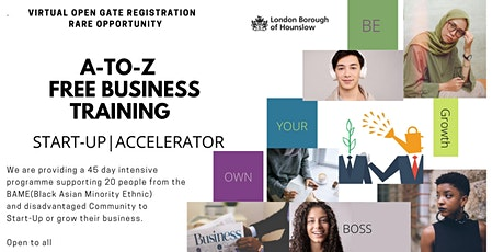 How To Start A Business - Q&A Session 4 tickets