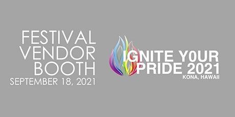 VENDOR: Kona Pride Festival 2021 tickets