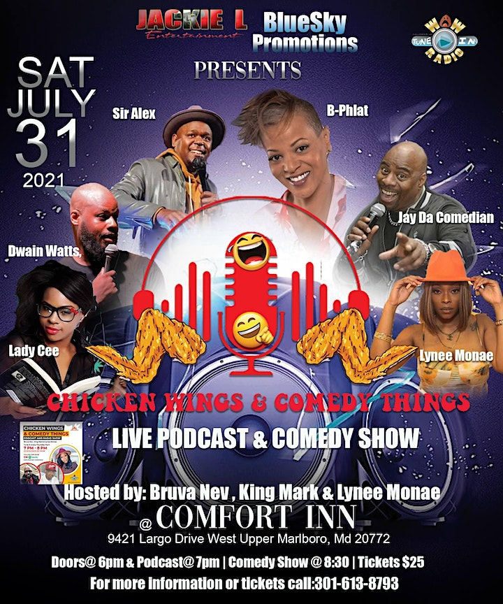 CWCT Podcast & Comedy Show image