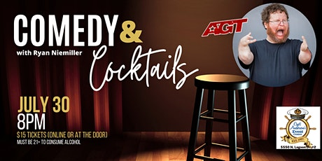 Comedy & Cocktails with Ryan Niemiller tickets