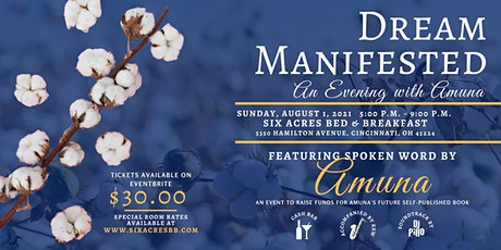 Dream Manifested: An Evening with Amuna tickets