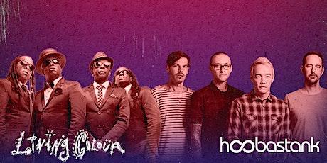 Living Colour & Hoobastank tickets