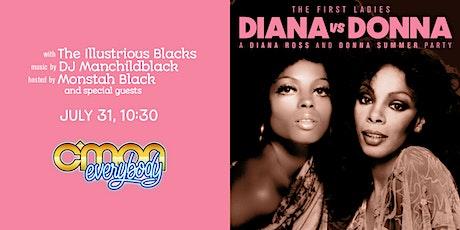 Diana vs Donna tickets