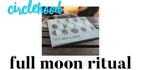 Circlehood August Full Moon VIRTUAL tickets
