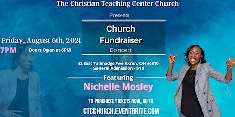 CTCC Fundraiser Concert Ft. Nichelle Mosley tickets