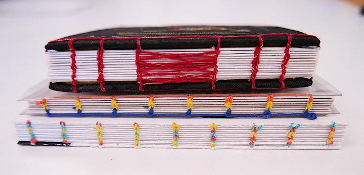 Bookbinding Workshop: Let's Bind Some Sketchbooks - Jul 31, 10:00am-12:30pm image