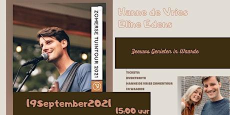 HANNE DE VRIES ZOMERTOUR IN WAARDE tickets