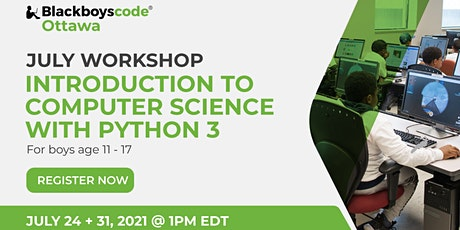 Black Boys Code Ottawa - Introduction to Computer Science with Python 3 tickets