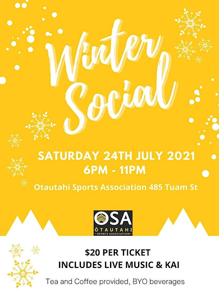 Ōtautahi Sports Association Winter Social image