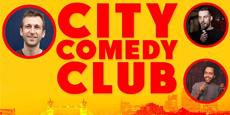 CITY COMEDY CLUB: 12 AUGUST tickets