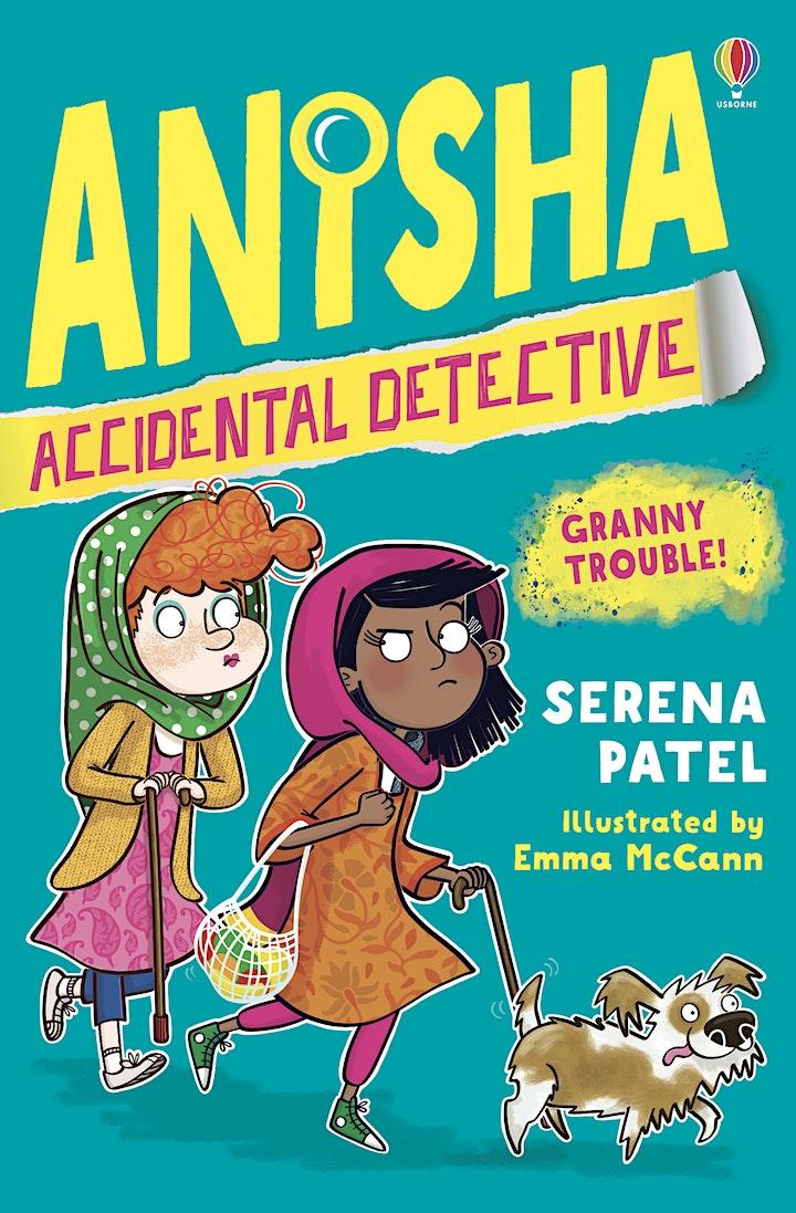 Serena Patel: Meet the Author – ONLINE image
