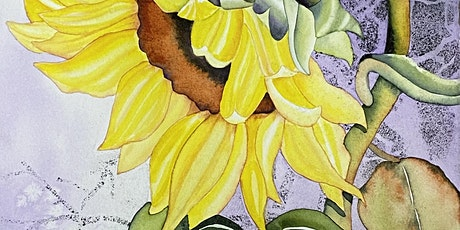 Sunflower 1-Day Watercolor Workshop with Suzi Vitulli tickets