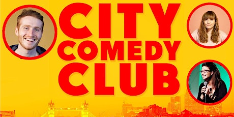 CITY COMEDY CLUB: 14 AUGUST tickets