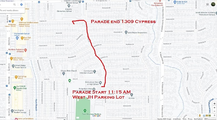 Arapaho Heights 4TH OF JULY STROLL & ROLL Sunday July 4th image