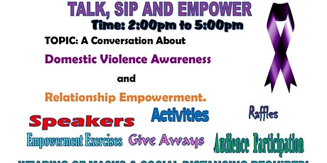 Talk, Sip & Empower: A Conversation About Domestic Violence Awareness tickets