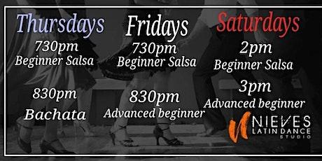Long island  Advanced Beginner Salsa Class tickets