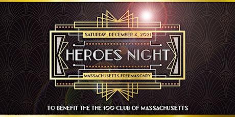 Massachusetts Freemasonry Heroes Night To Benefit The Hundred Club of Mass tickets