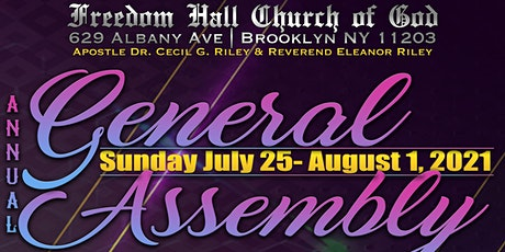 40th General Assembly - Visitor Registration tickets