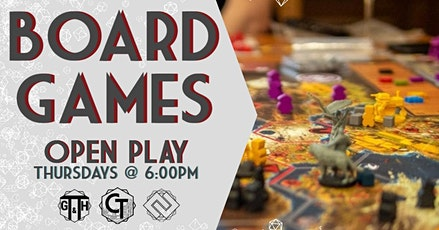 Open Play: Board Games tickets