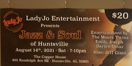 An Evening Of Jazz &  Soul  Of Huntsville tickets