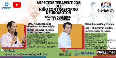 ASPECTOS TERAPEUTICOS DEL NIÑO CON TRASTORNO NEUROMOTOR entradas