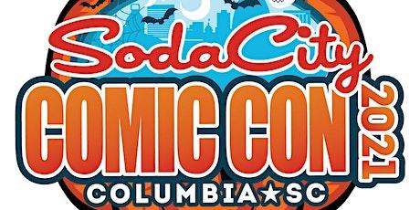 Soda City Comic Convention 2021 tickets