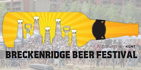 Breckenridge Summer Beer Festival 2021 tickets
