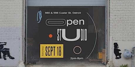 Custer Street Open Studios tickets