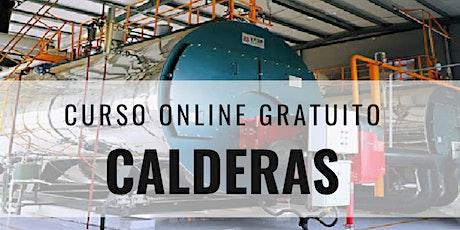 "Curso Online Gratuito ""Calderas"" boletos"