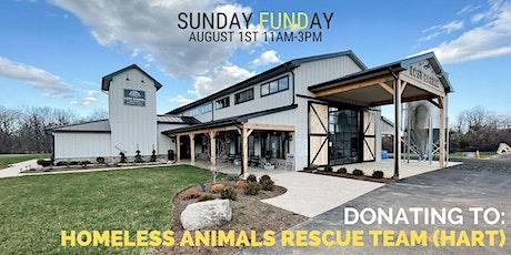 Sunday FUNDay: Homeless Animals Rescue Team (HART) tickets