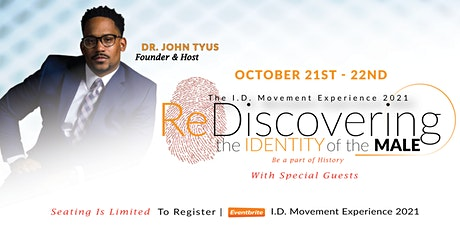 The I.D. Movement Experience 2021: Re-Discovering The Identity of the Male tickets