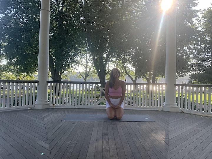 Sunday Morning Yoga in the Park w/ YOGA BLUE NPT image