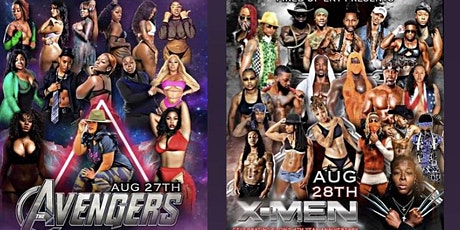 Flow Anniversary Weekend Avengers and X-Men (Women ONLY) Aug 27th & 28th tickets