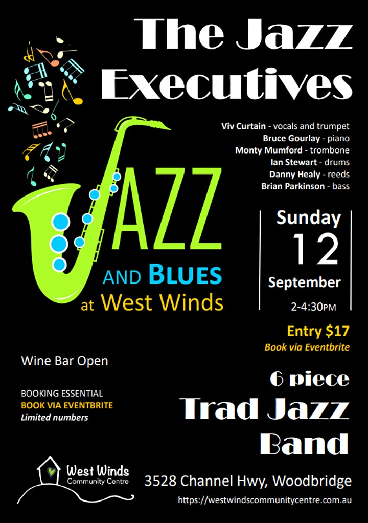 JAZZ AND BLUES AT WEST WINDS image