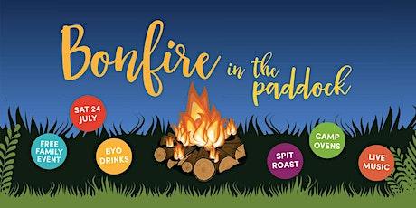 Bonfire in the Paddock tickets