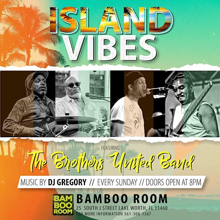 Island Vibes at Bamboo Room (Every Sunday) image