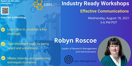 Industry Ready Workshop Series : Effective Communications tickets