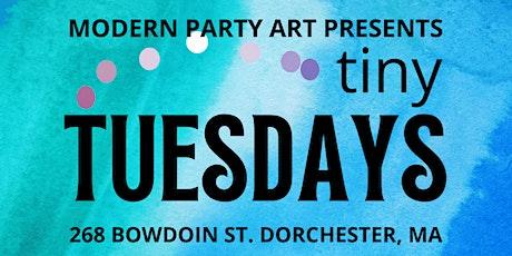 Tiny Tuesdays - paint parties tickets