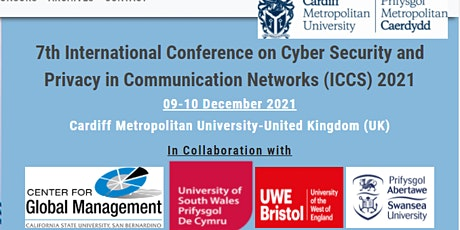 7th International Conference on Cyber Security and Privacy (ICCS) 2021 tickets