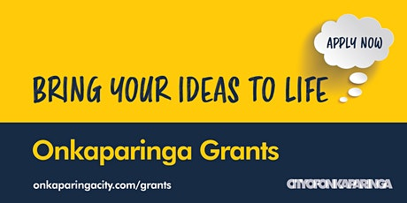 Grant Writing Workshop 2021 Woodcroft - Evening Session tickets